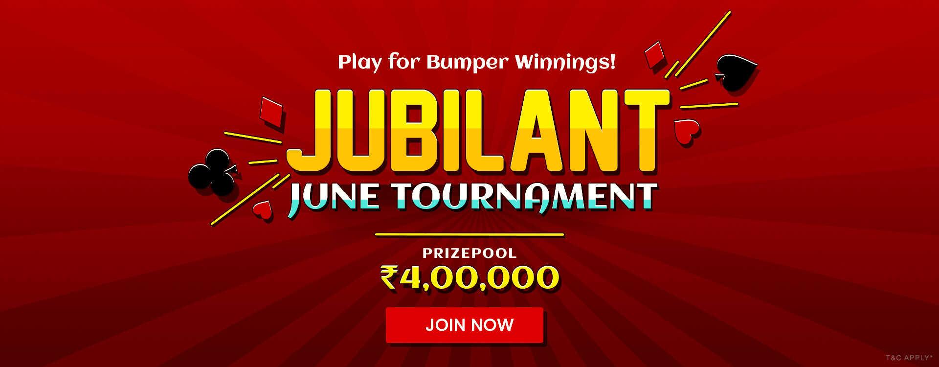 Jubiliant June Tournament