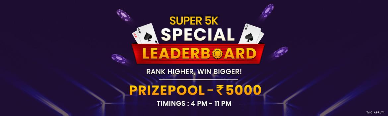 Super 5K Special Leaderboard
